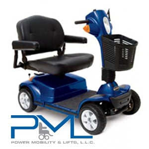 Superb Power Mobility Lifts Pride Scooters Maxima Blue Medicare Pabps2019 Chair Design Images Pabps2019Com