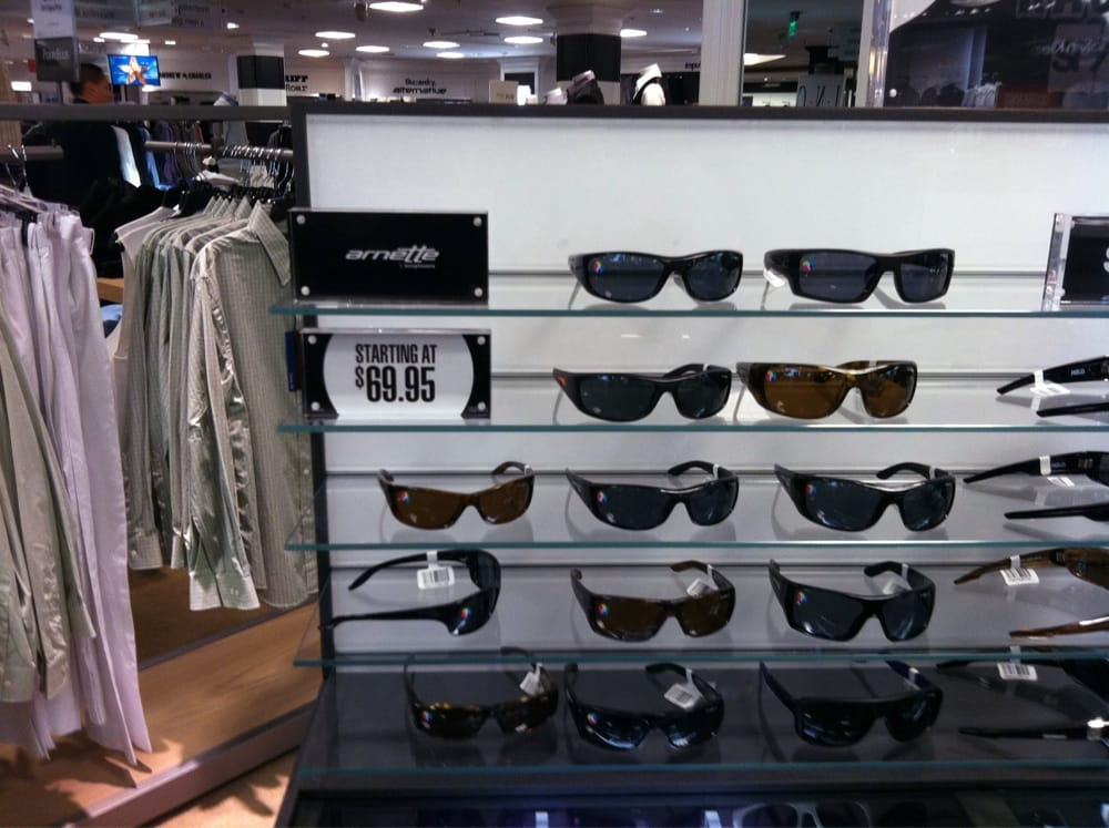 1be7ce45f8 Sunglasses case inside Macy s Mens Store....a mini Sunglasses Hut ...