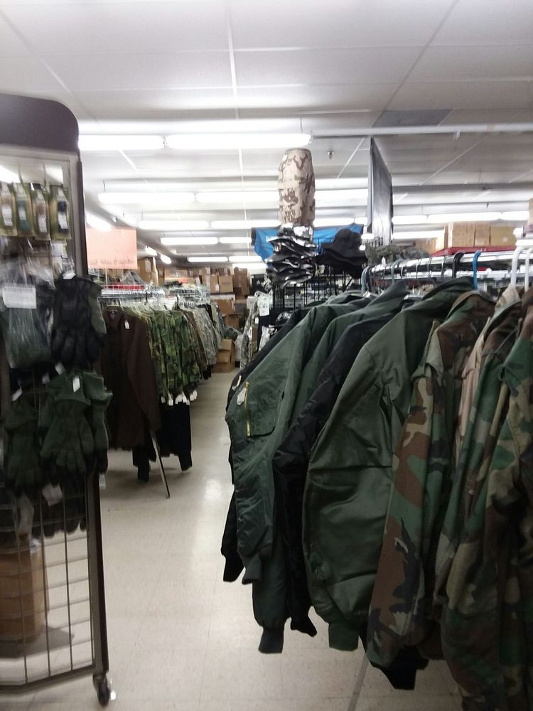 Fort Barnes Military Surplus: 100 E South St, Ozark, MO
