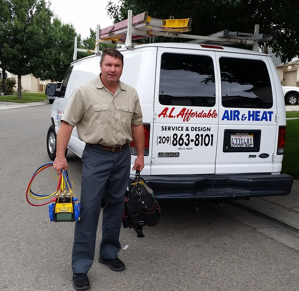 A L Affordable Air and Heating: 5225 Pentecost Dr, Modesto, CA
