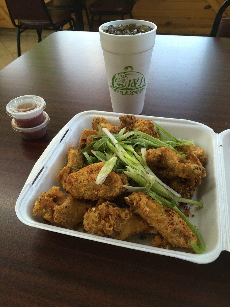 J&J Wings & Seafood: 4849 Hwy 73, Port Arthur, TX