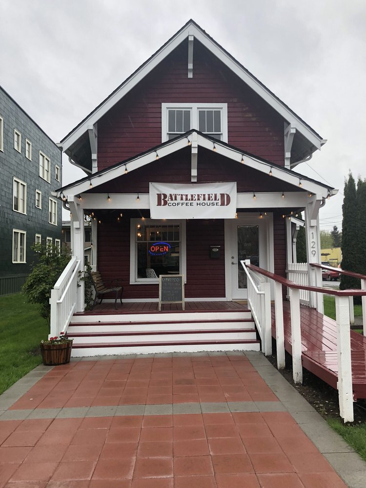 Battlefield Coffee House: 129 A St NW, Auburn, WA