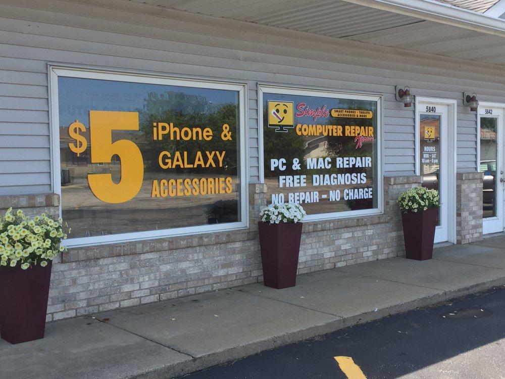 Simple Computer Repair: 5840 Cleveland Ave, Stevensville, MI