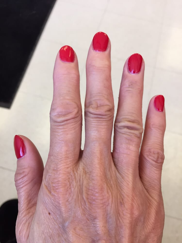My New Year\'s Eve gel nails by Lisa - Yelp