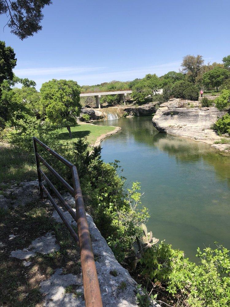 Tonkawa Falls Park: 8524 E 5th St, Crawford, TX