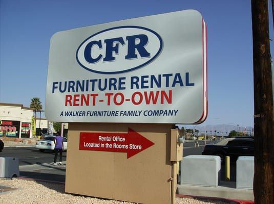Cfr furniture rental rent to own furniture rental for Rent one furniture rental