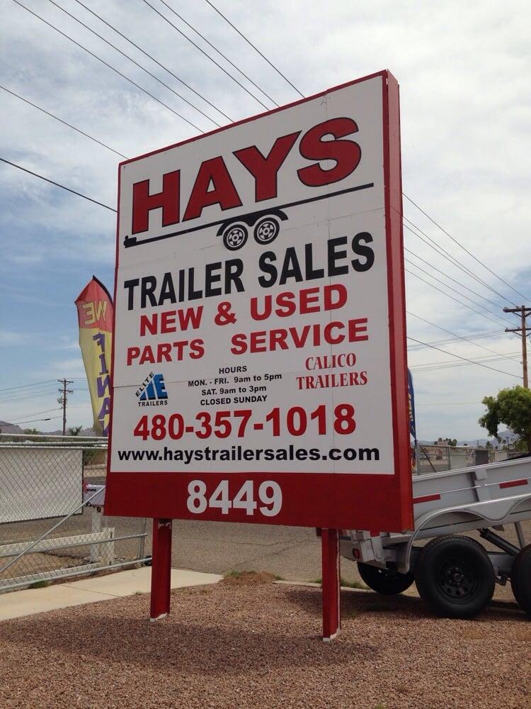 Hays Trailer Sales Trailer Dealers 8449 E Main St
