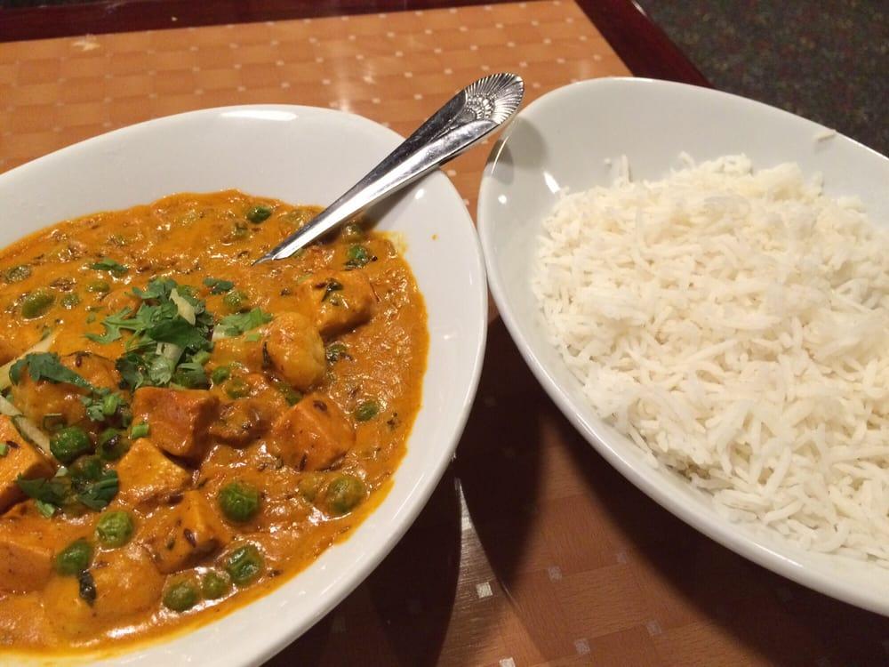 Mattar paneer gobi special request yelp for Art cuisine tahiti