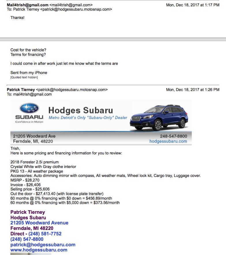 Hodges Subaru - 39 Photos & 64 Reviews - Auto Repair - 21205
