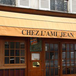 Restaurant Chez Jean Rue Malar  Paris