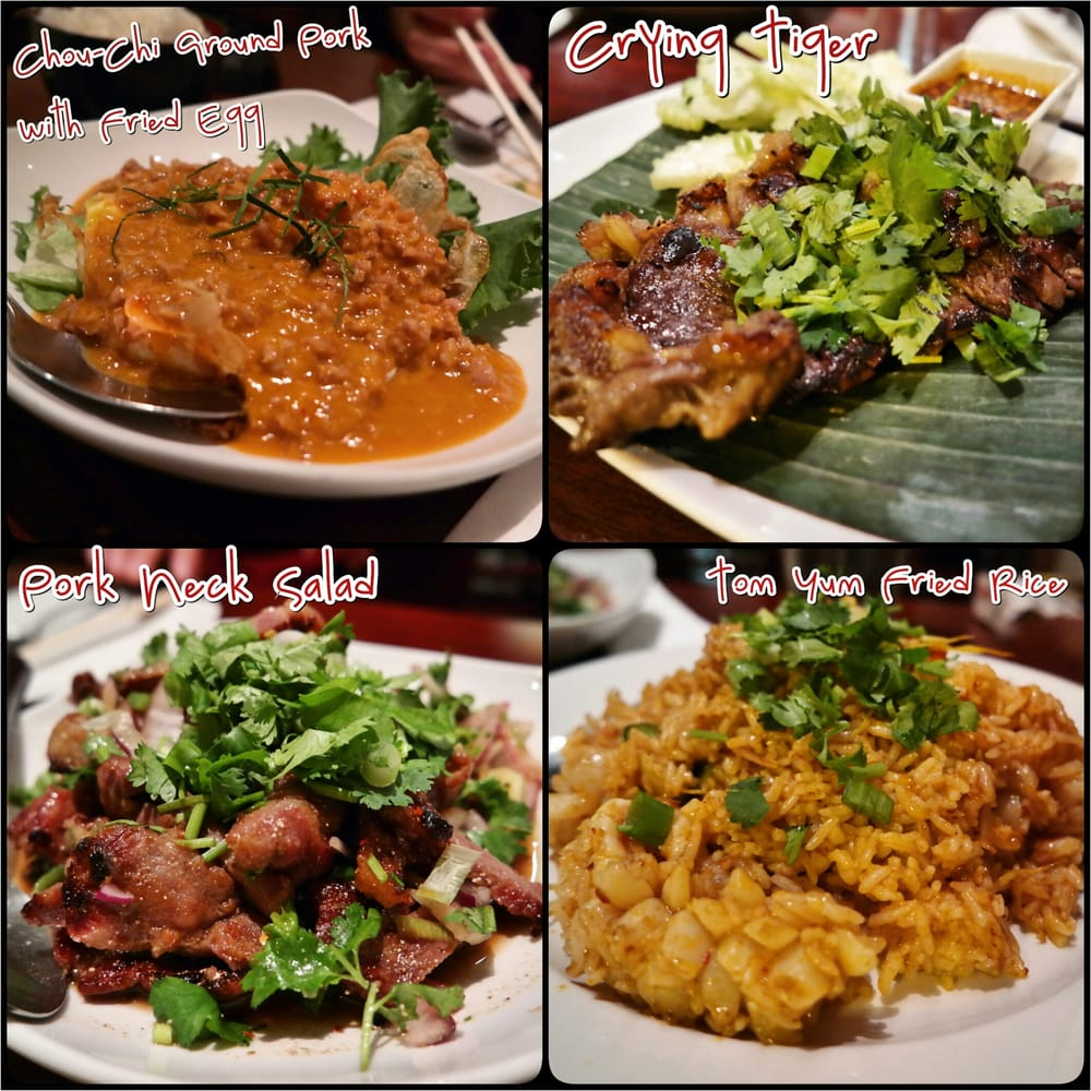 One of the best thai restaurants in chicago yelp for Aroy thai cuisine menu