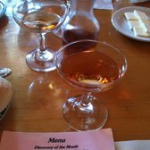 Photo of La Casa Rosa - San Juan Bautista, CA, United States. House Ash White Wine-- very different, with a blend of Italian & French vermouth.