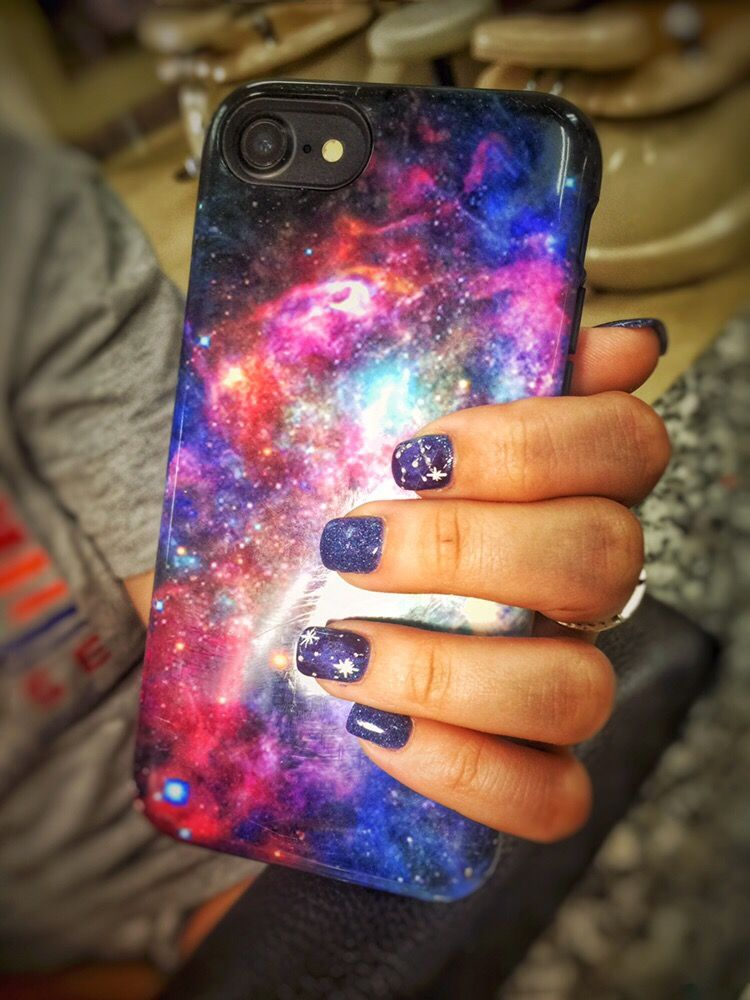 One of the best fun yet! Sns galaxy nails - Yelp