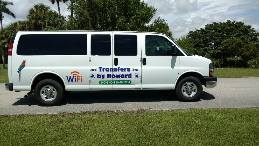 Howards Air and Cruise Ground Transportation: 2717 SW 6th Ct, Fort Lauderdale, FL