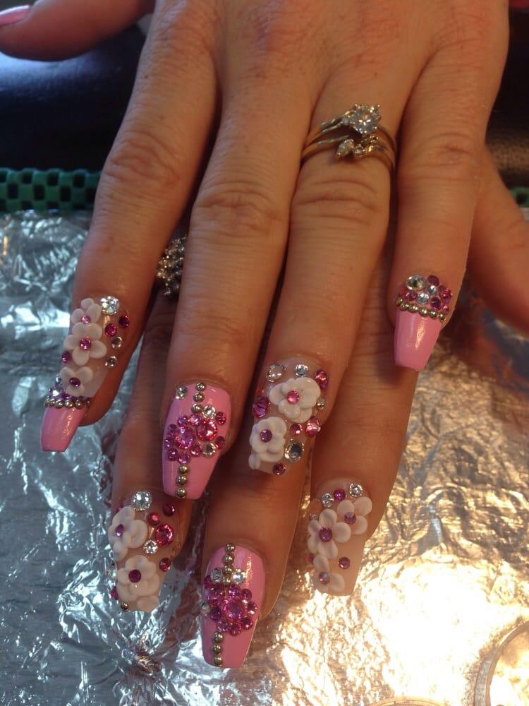 3d nail art and bling bling yelp for 3d nail art salon