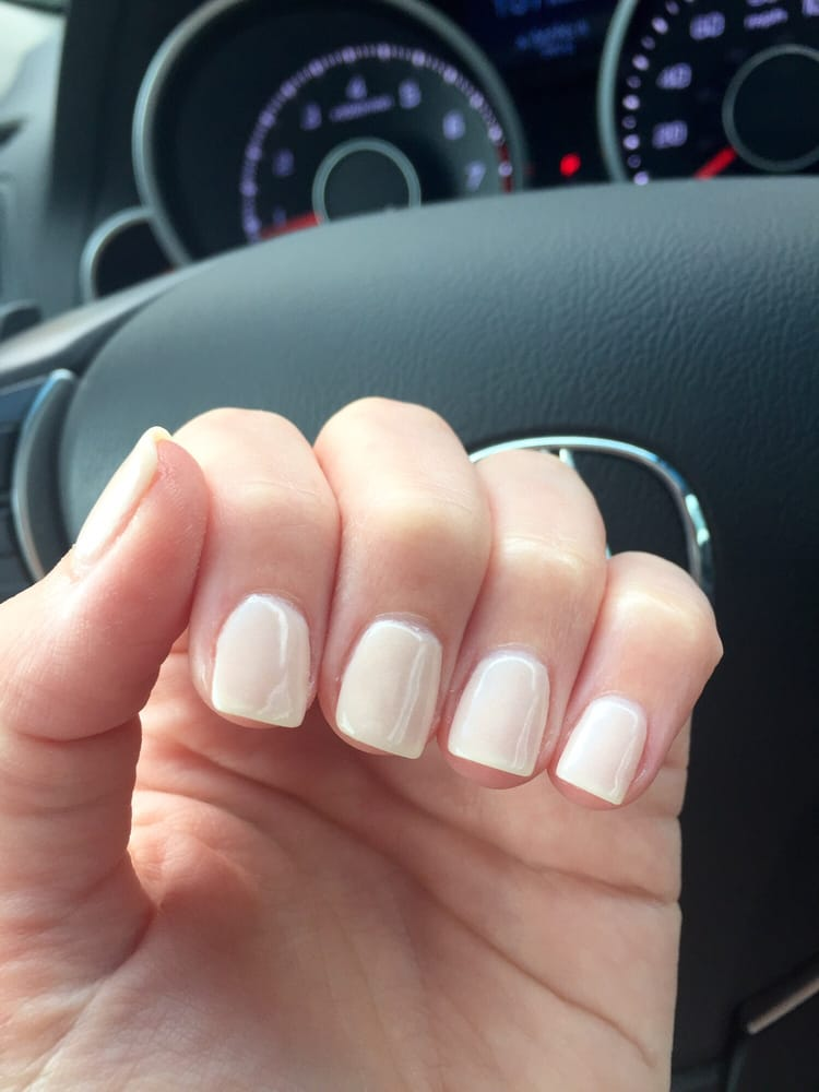 Nexgen powder dipped nails in the color Utah - Yelp