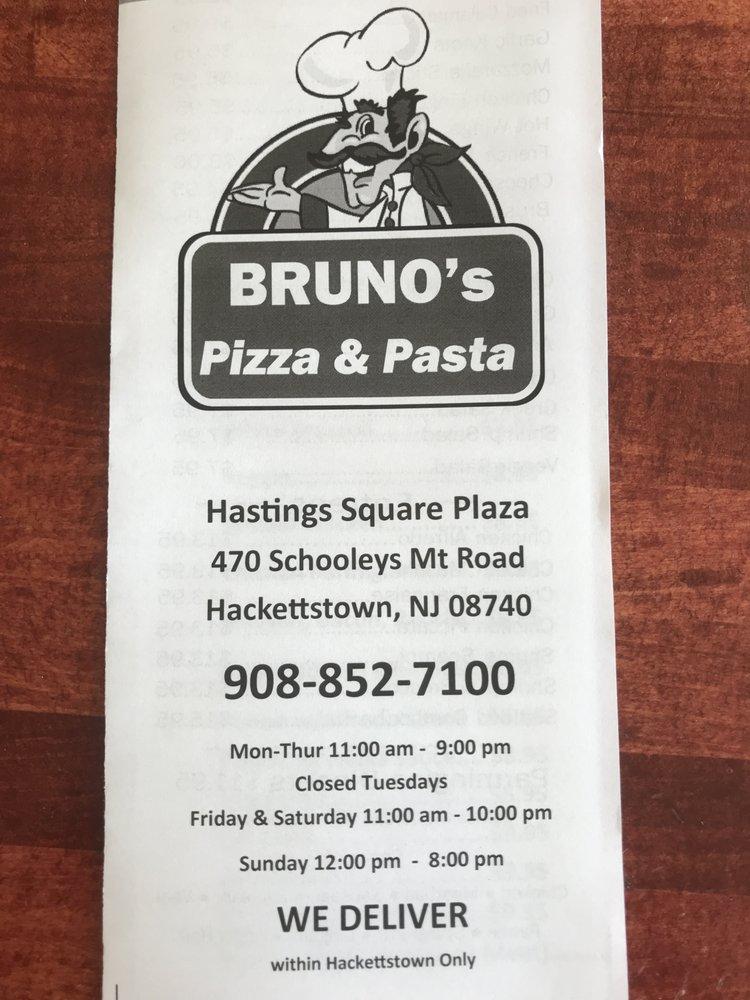Photo of Bruno's Pizza: Hackettstown, NJ
