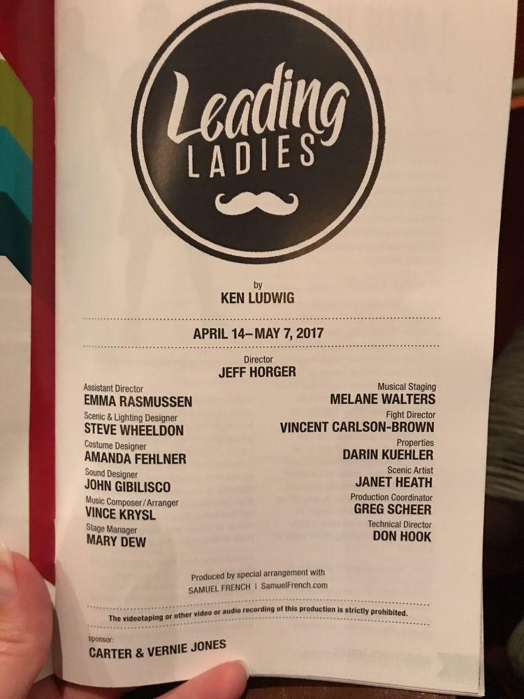 Omaha Community Playhouse presents Leading Ladies