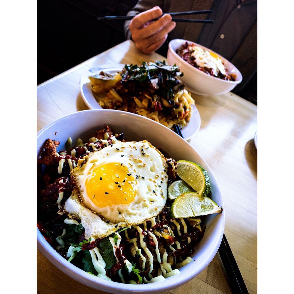 Food from Soo Bak Seoul Bowl