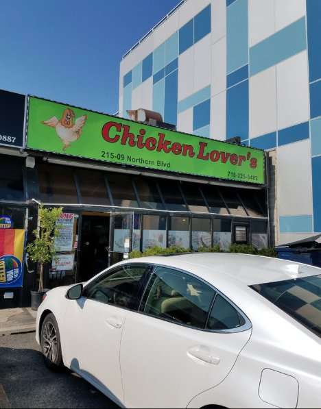 Food from Chicken Lovers