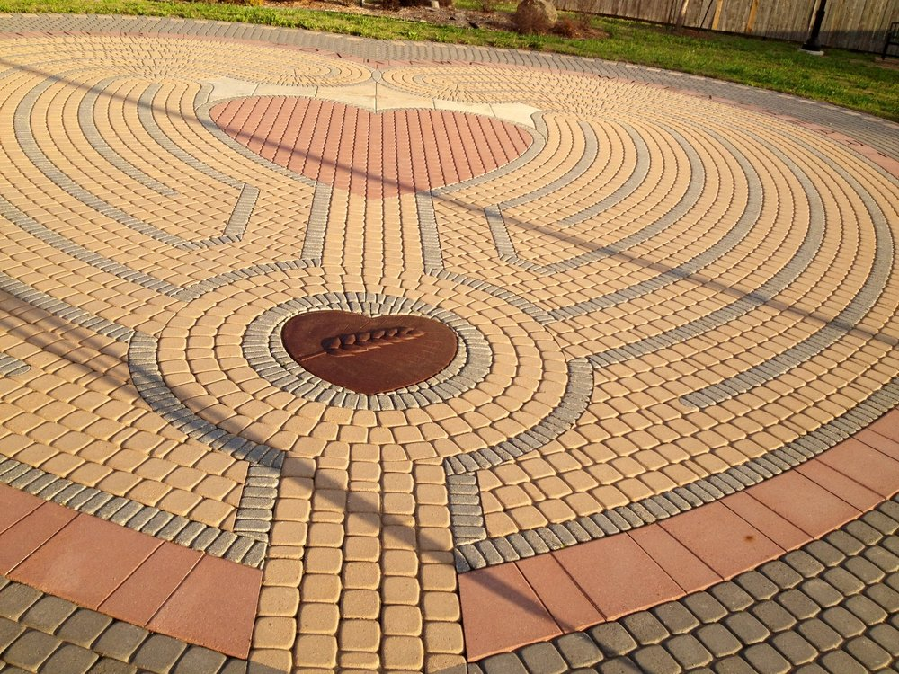 Heart in the Park Labyrinth: 301 E Grand Ave, Tonkawa, OK