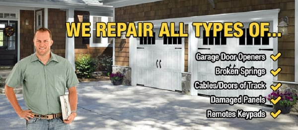 Able Garage Door Repair Closed Garage Door Services 3919