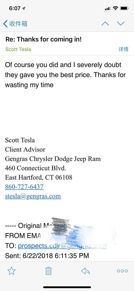 Photo Of Gengras Chrysler Dodge Jeep Ram   East Hartford, CT, United States