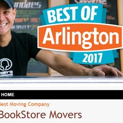 Photo Of Bookstore Movers   Washington, DC, United States. Thanks For Your  Votes