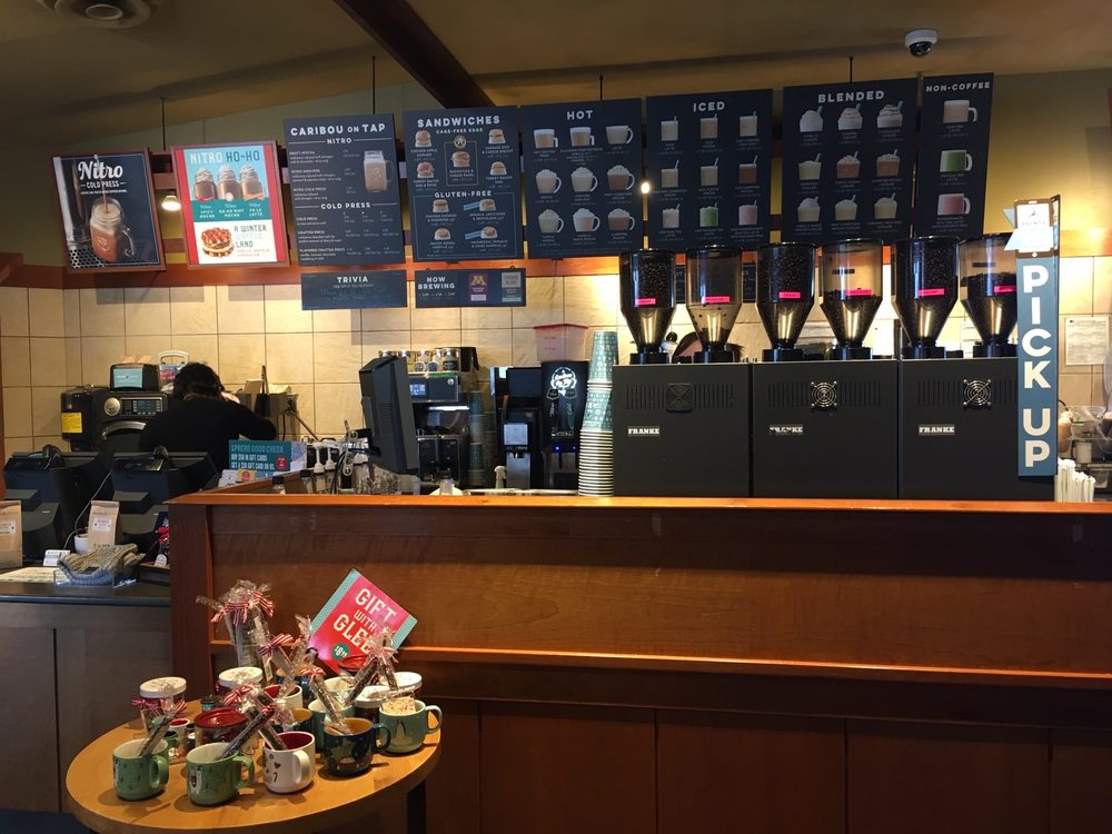 Caribou Coffee: 2350 43rd St NW, Owatonna, MN