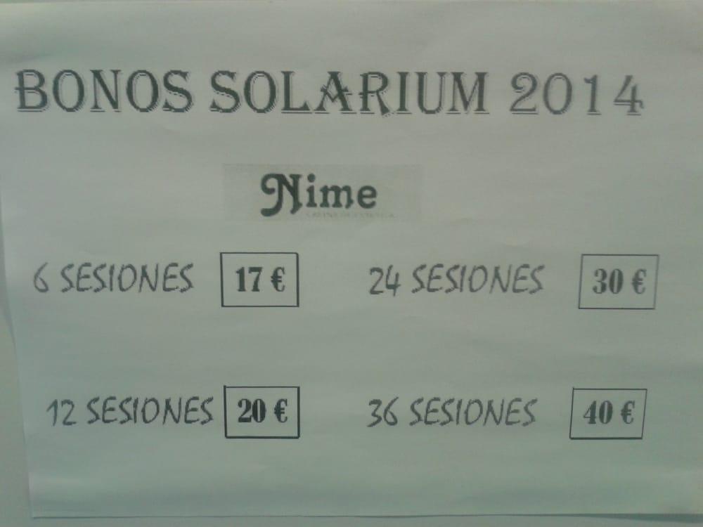 Cabina De Estetica Nime Gijon : Bonos de solarium yelp