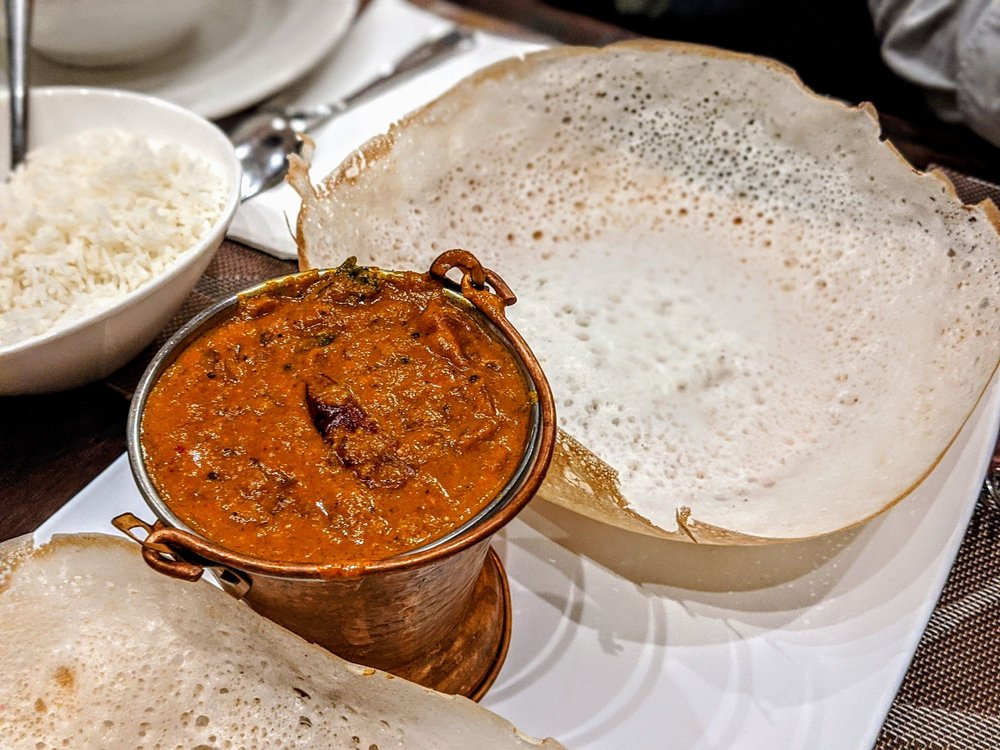 Food from Manam Indian Cuisine