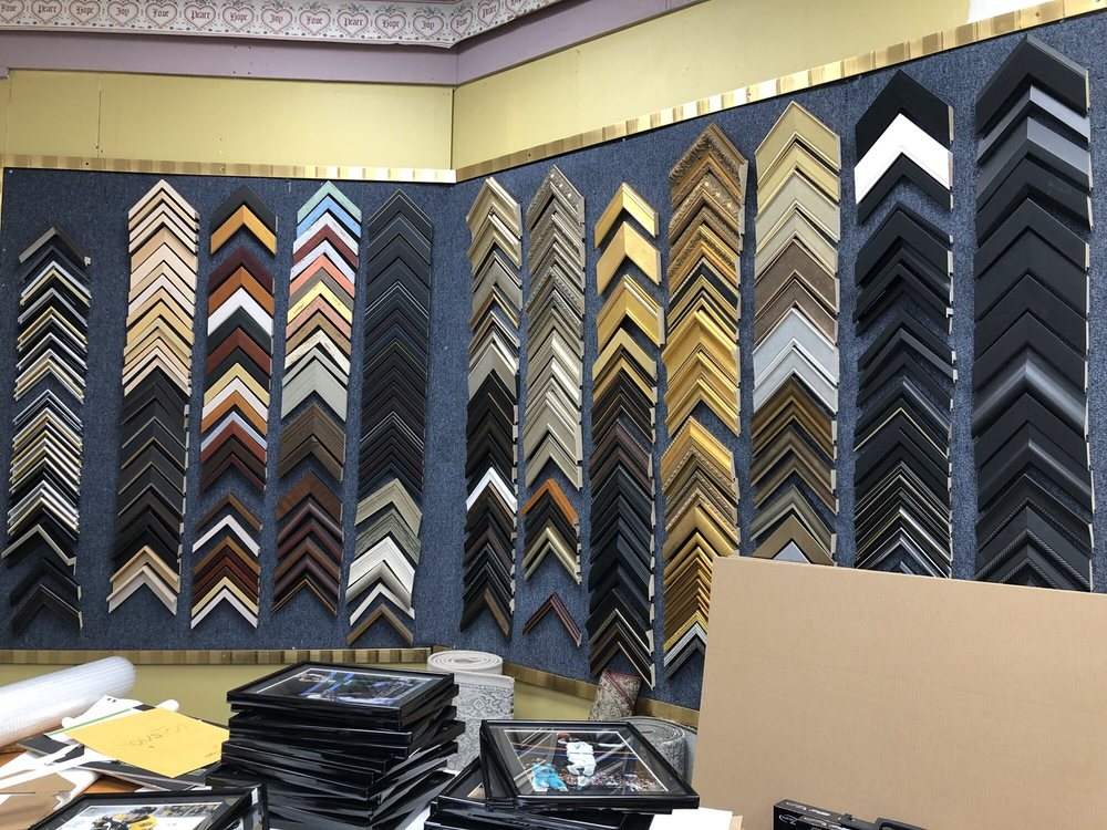 Custom framing available and I\'ll be back for sure! - Yelp