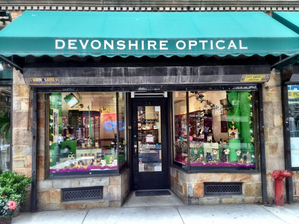 vision test at Devonshire Optical powered by Smart Vision Labs eye exams