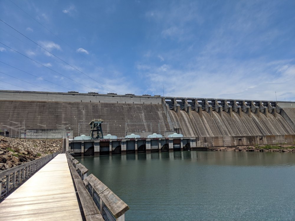 Hartwell Dam and Lake Visitor Center: 5625 Anderson Hwy, Hartwell, GA