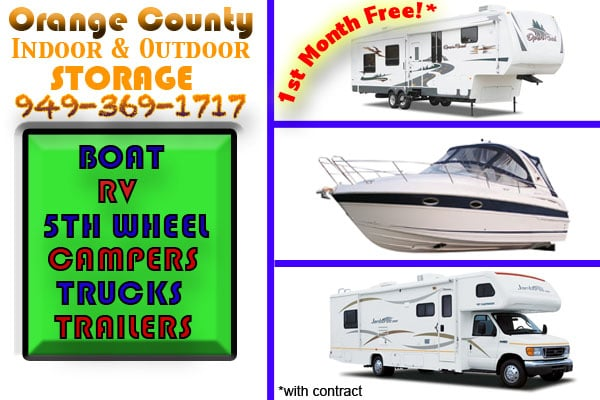 Orange County Boat Rv Storage Closed Self Storage