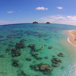 Photo Of Kailua Beach Adventures Hi United States Kayaking To The