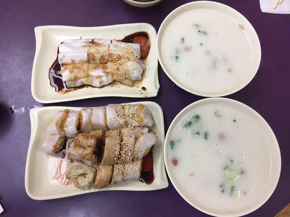 plain rice rolls top l rice rolls with dough stick