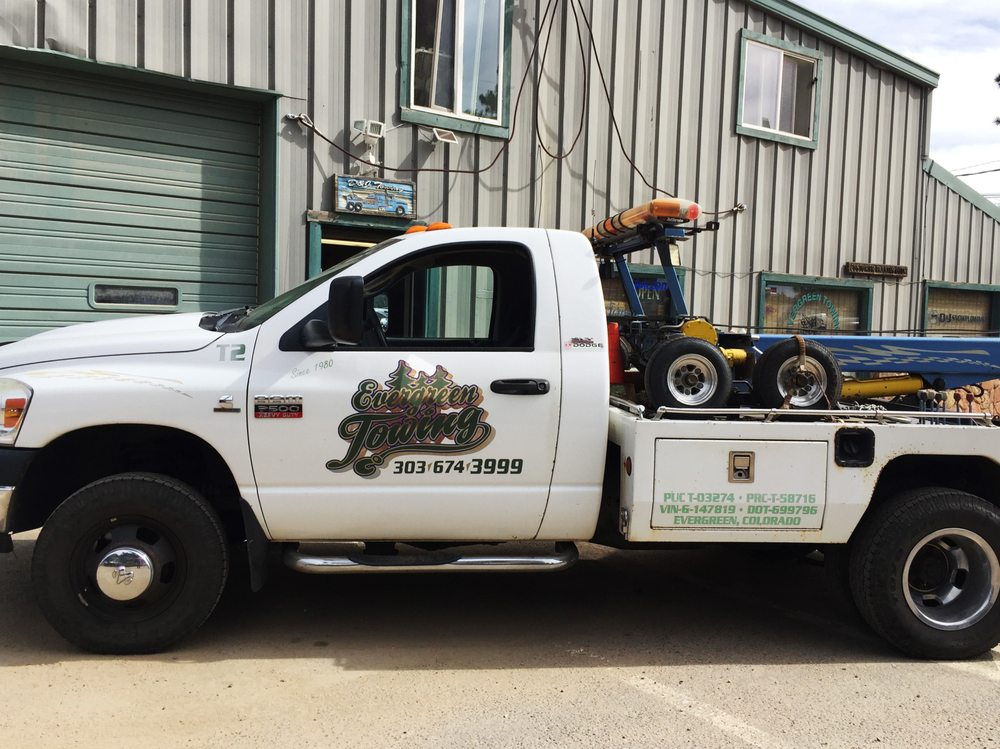 Towing business in Evergreen, CO