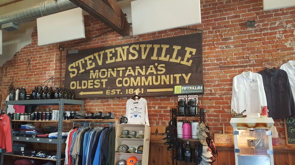 Blacksmith Brewing Company: 114 Main St, Stevensville, MT