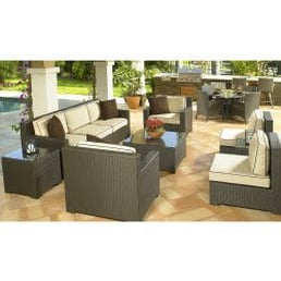 Photo Of Patio Productions   San Diego, CA, United States. Hampton Wicker  Sectional
