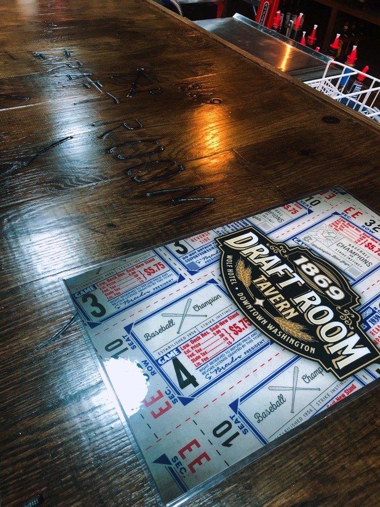 1869 Draft Room: 216 W Front St, Washington, MO