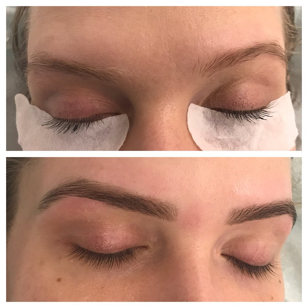 Eyebrow Tint Lash Tint Brow Shaping Yelp