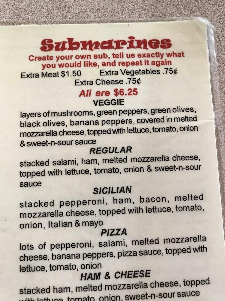 Peans Pizza Subs & Sudz: RR 20, Monroeville, OH