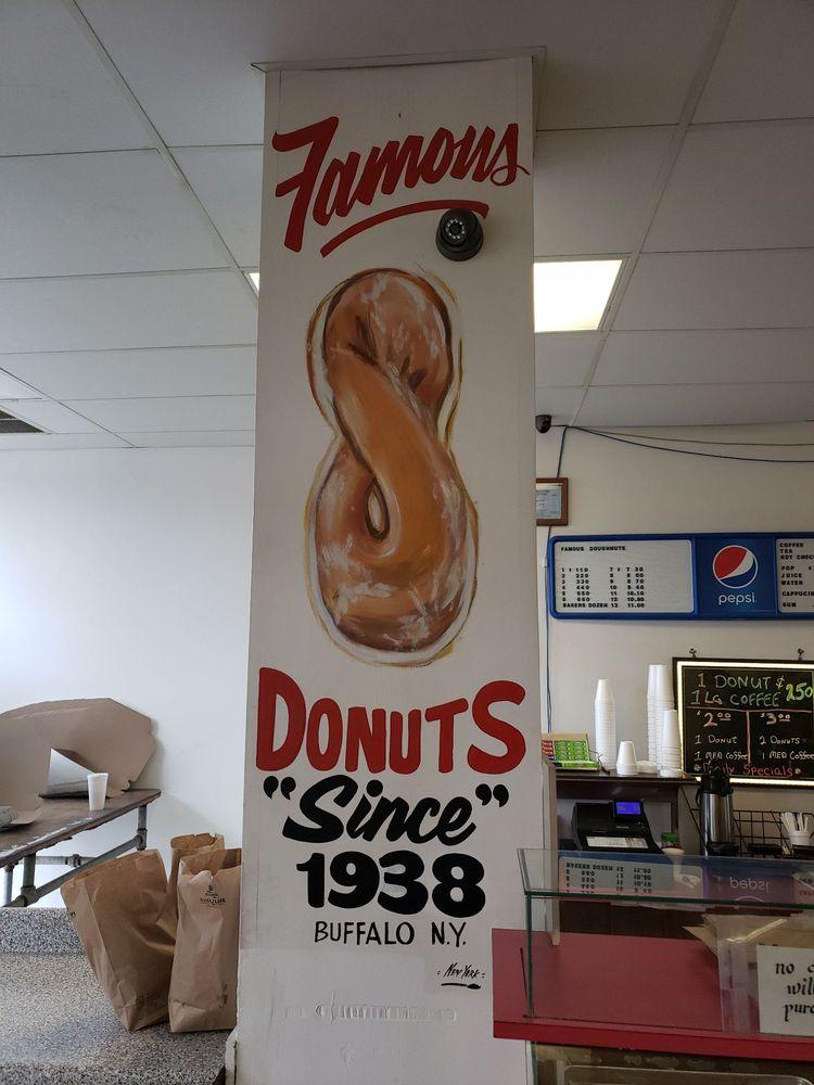 Famous Doughnuts: 3043 Main St, Buffalo, NY