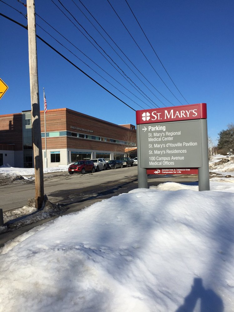 St Mary's Hospital: 93 Campus Ave, Lewiston, ME