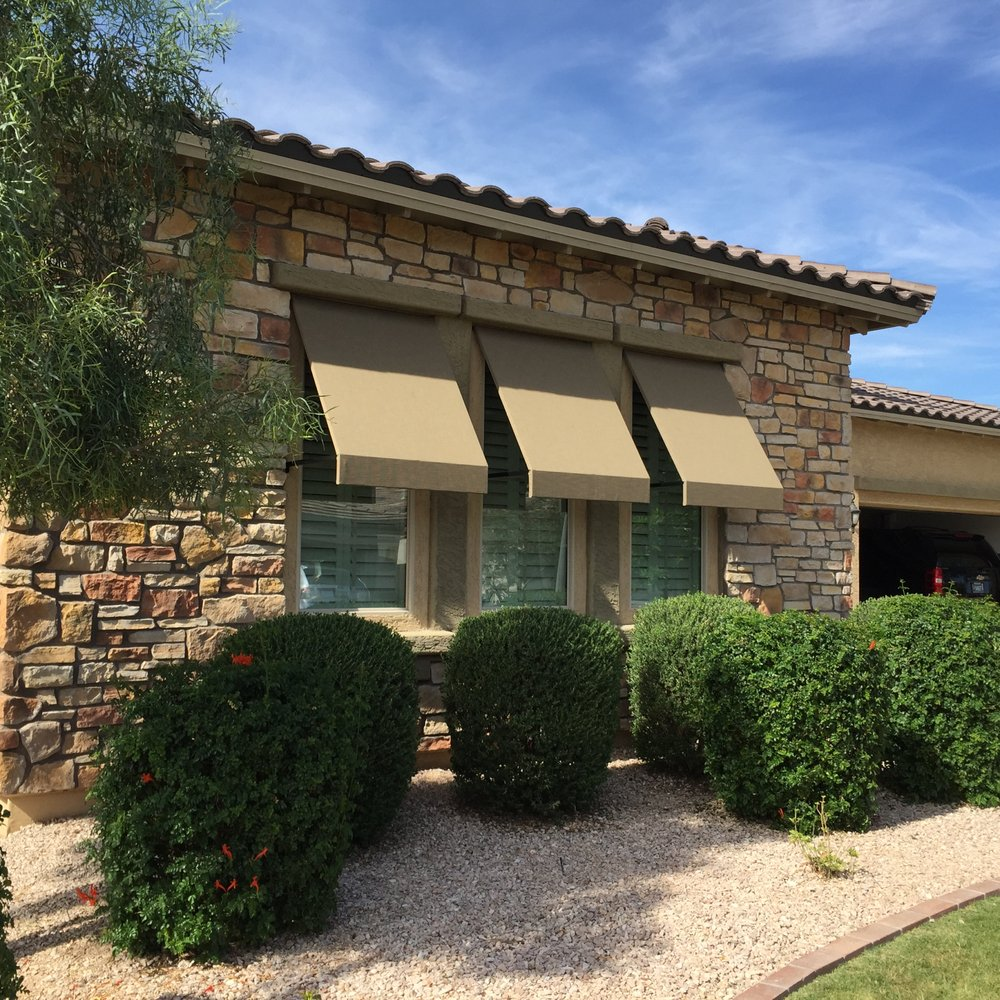awnings worth front awning door colorado phoenix fort repair garage g home denver in