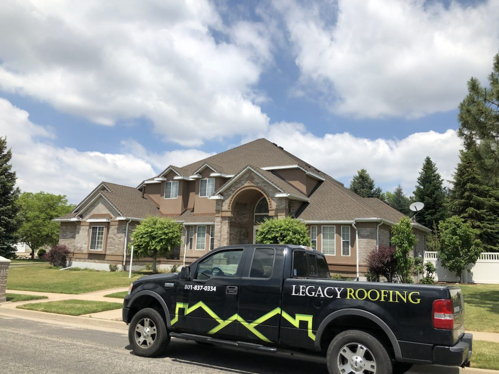 Legacy Roofing: 570 E 1700th S, Clearfield, UT