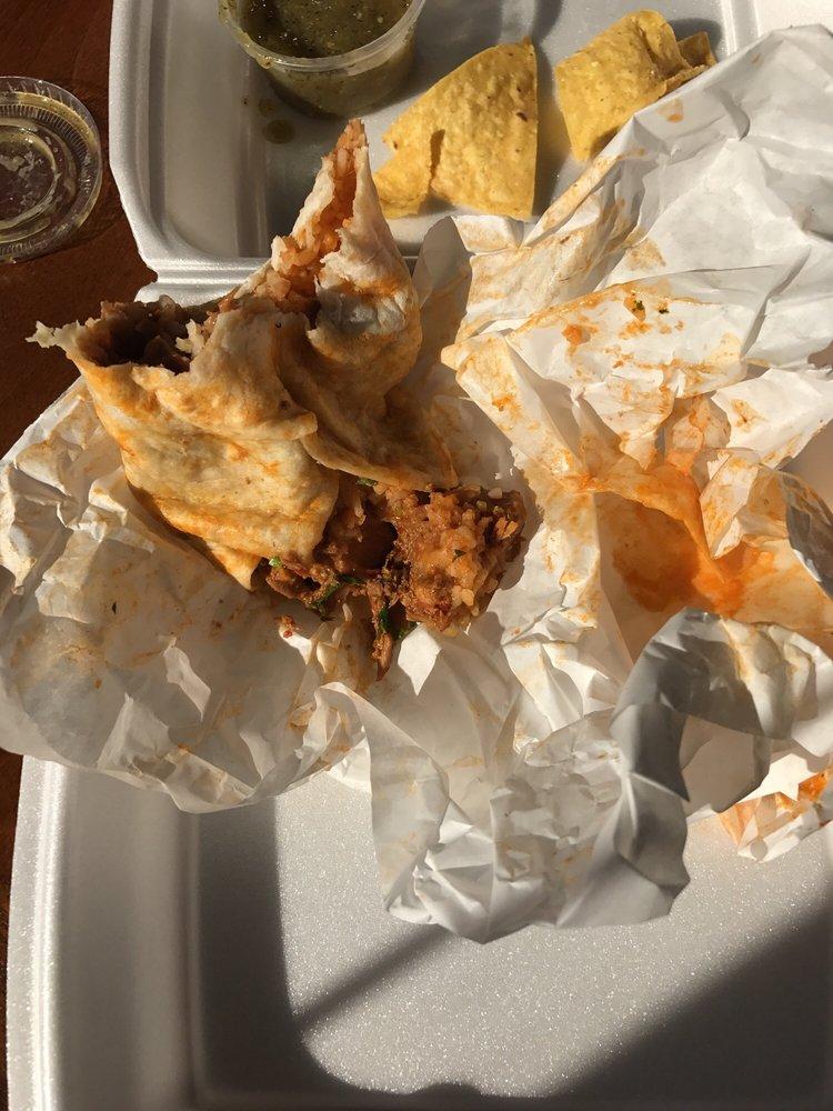 Food from Burrito Heaven