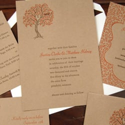 Photo Of Inviting Invites   San Diego, CA, United States. Letterpress Wedding  Invitation