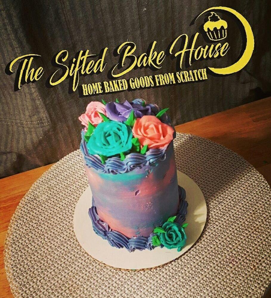 Mini lemon flower Cake Yelp